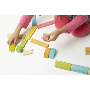 90-Piece Tegu Classroom Kit - child playing
