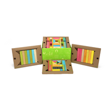 Load image into Gallery viewer, 90-Piece Tegu Classroom Kit - open box