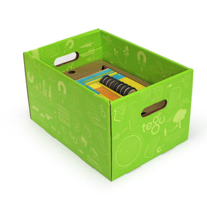 90-Piece Tegu Classroom Kit in storage box