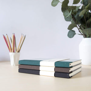 A5 Notebook Recycled & Sustainable - all