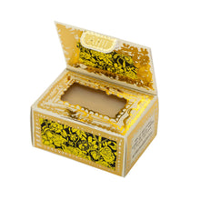 Load image into Gallery viewer, Bee Free  Pollen & Bloom Organic & Vegan Soap- open box