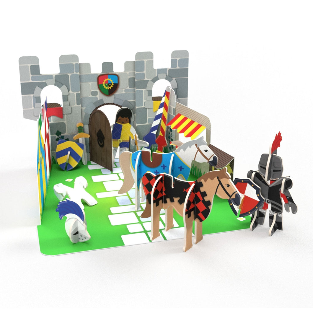 Build and Play Knights' Castle