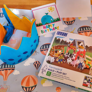 Children's Eco Birthday Gift Bundle B&S Card