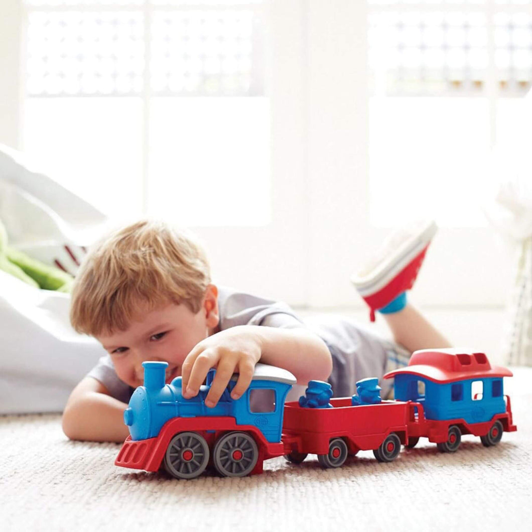 Green Toys Train - eco toys from recycled plastic