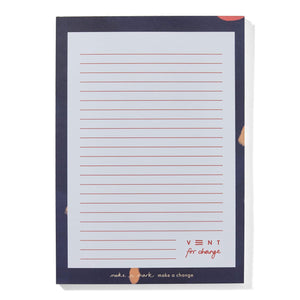 Ideas A5 lined Notepad  Recycled & Sustainable - blue