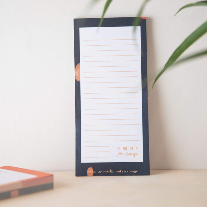 Ideas List Pad  Recycled & Sustainable - blue