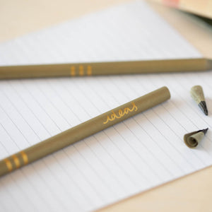 Ideas Pencils Pack - recycled gold