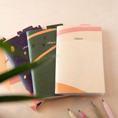 Ideas Pocketbook with Recycled Coffee Cup Cover
