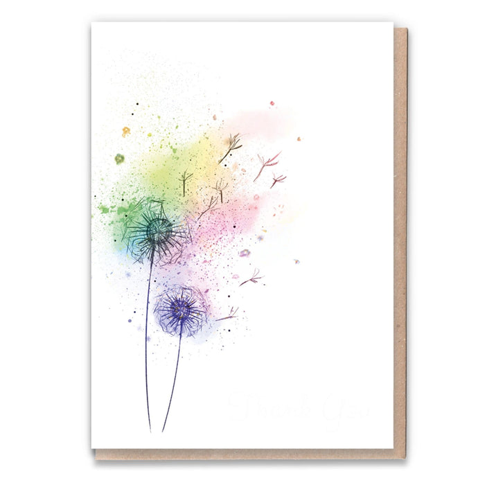 Rainbow Drift - Recycled Blank Card + Tree!