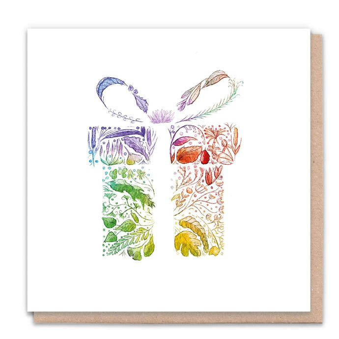 Rainbow Gift - Recycled Blank Card + Tree from 1 Tree Cards