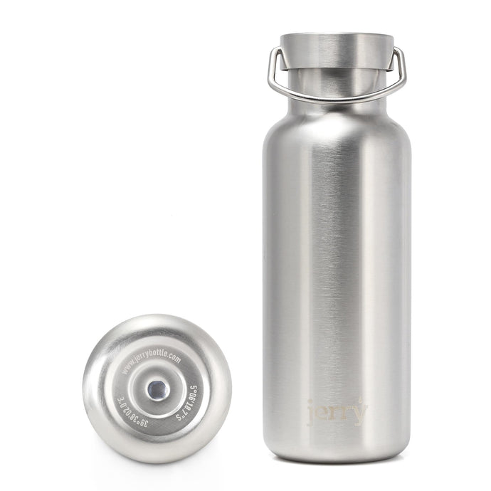 Stainless Steel Water Bottle  Reusable Bottles Funding Water Projects - steel medium - base