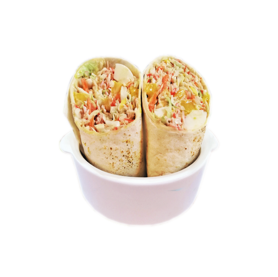 Happy Greens - The Kani Mentality (Crabstick Wrap) Tortilla Wrap 468 calories
