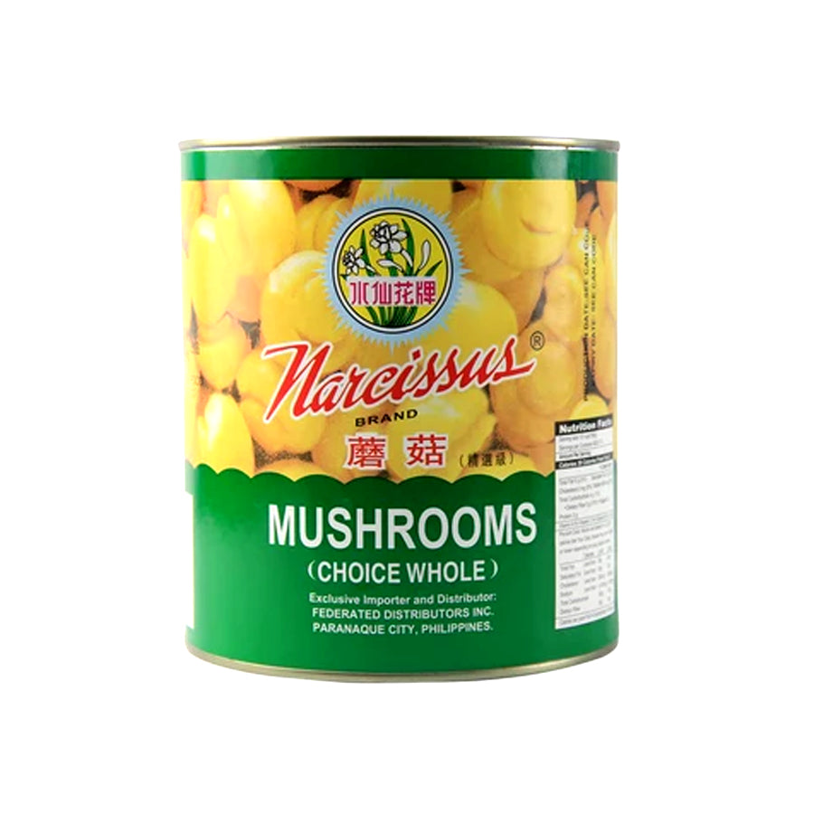 NARCISSUS MUSHROOM WHOLE 2840G