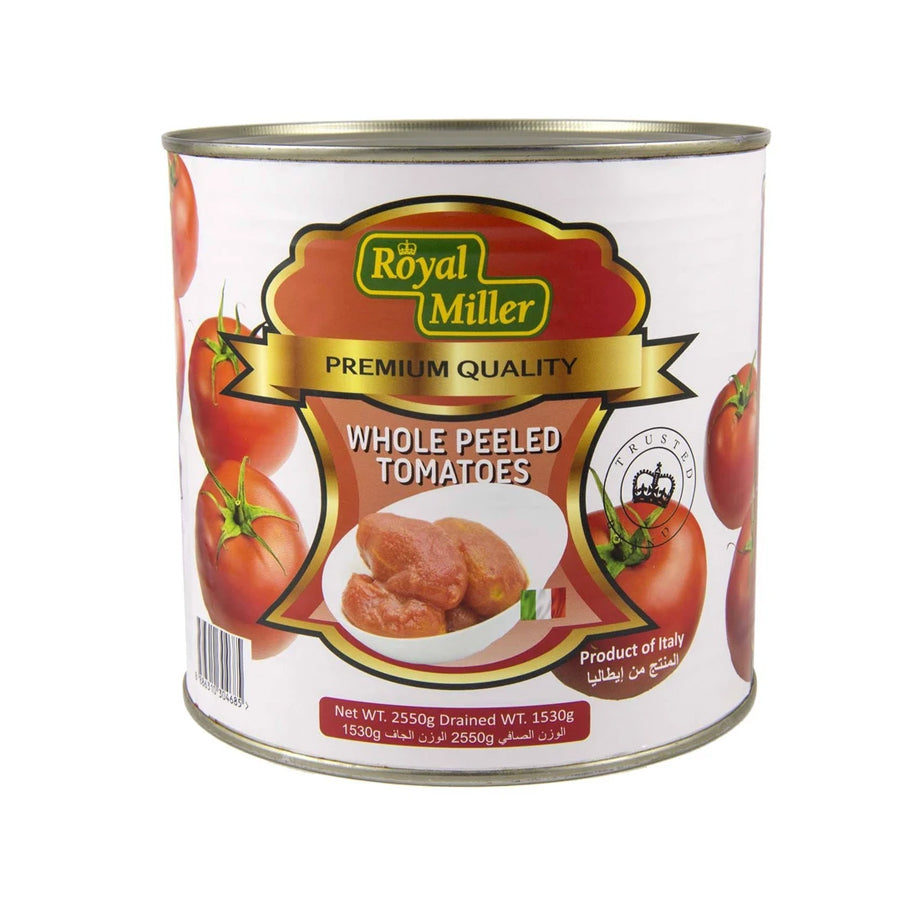 ROYAL MILLER WHOLE PEELED TOMATOES
