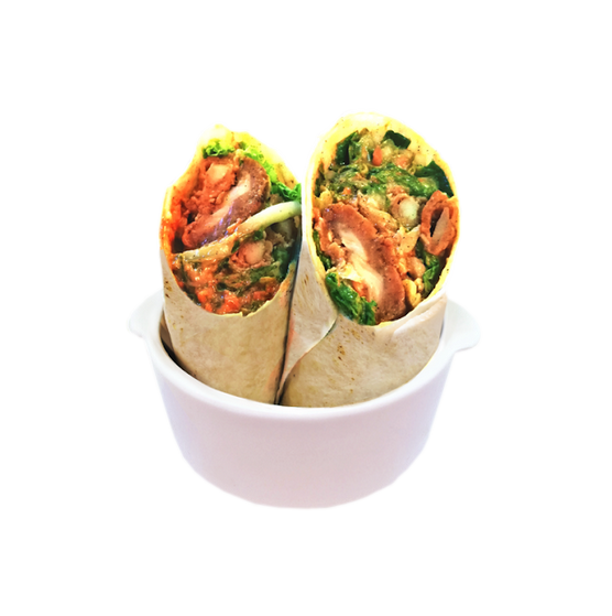 Happy Greens - Smokin' Hot (Buffalo Chicken Wrap) Sugar Free Wrap 346 calories