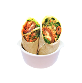 Happy Greens - Smokin' Hot (Buffalo Chicken Wrap) Tortilla Wrap 510 calories