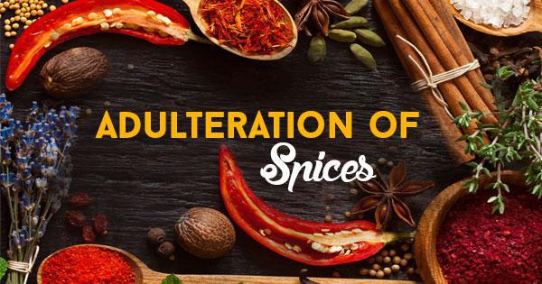 Adulteration in Indian Spices