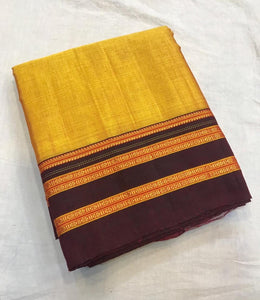 Viscose Body Silk Pallu Saree