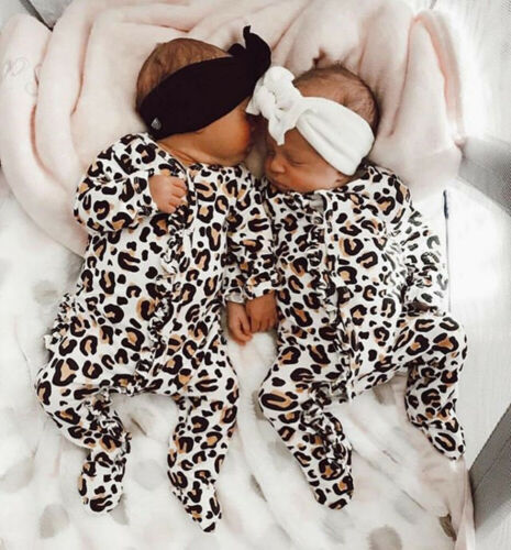 Leopard Cotton Soft Jumpsuit - Beaus and Ribbons