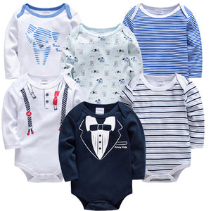 Newborn Bodysuit  3/6 PCS 0-3M - Beaus and Ribbons