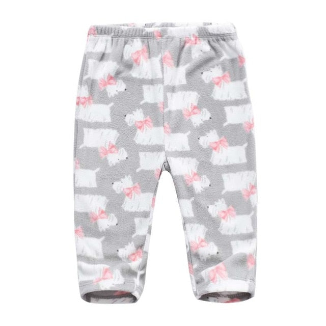 Fleece Bottoms 6M-24M - Beaus and Ribbons