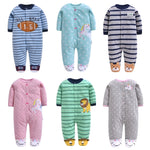 Fleece Footed Pajamas 3-12M - Beaus and Ribbons
