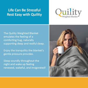 6.8kg/9kg Weighted Blanket for Stress Relief