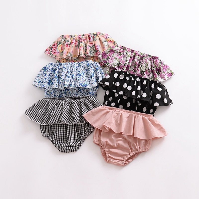 Newborn Ruffle Bottoms