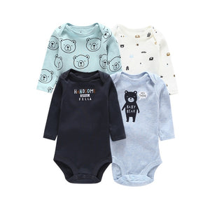 Long Sleeve Unisex Onesie Newborn - Beaus and Ribbons