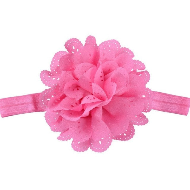 Flower Headband - Beaus and Ribbons
