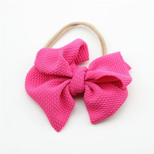 Messy Bow Headband - Beaus and Ribbons