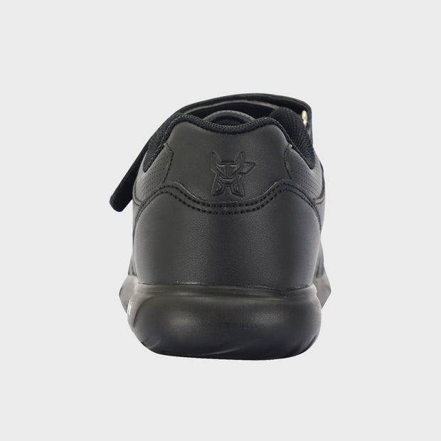Arctic Fox Black School Shoes