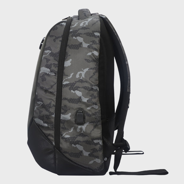 Arctic Fox New Anti-Theft Alarm Camo Black Backpack
