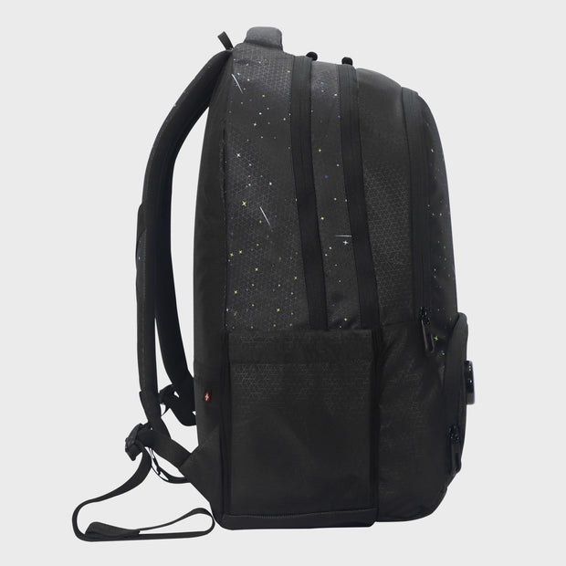 Arctic Fox Cosmonaut Black Backpack