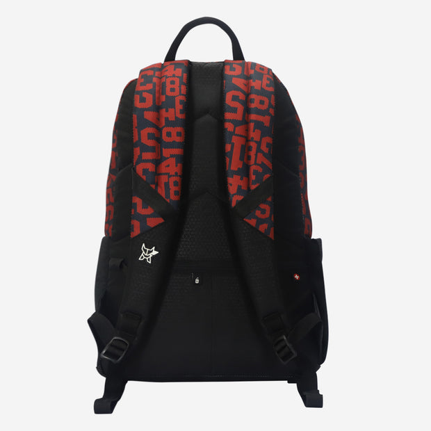 Arctic Fox Digital Red Backpack
