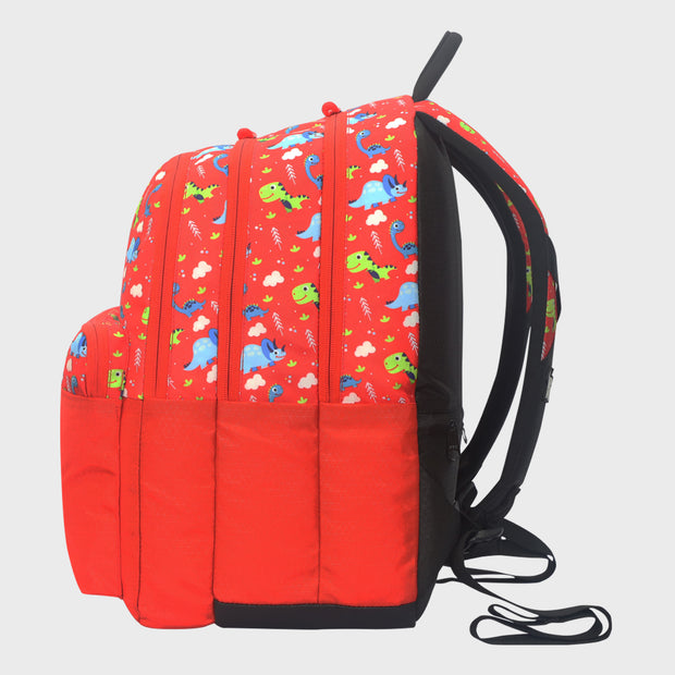Arctic Fox Dino Fiery Red Backpack