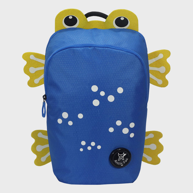 Arctic Fox Frog Directorie Blue Backpack