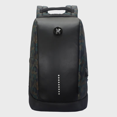 Arctic Fox Slope Anti-Theft Camo Black Backpack