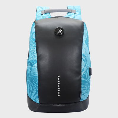 Arctic Fox Slope Anti-Theft Marble Carribean Sea Backpack