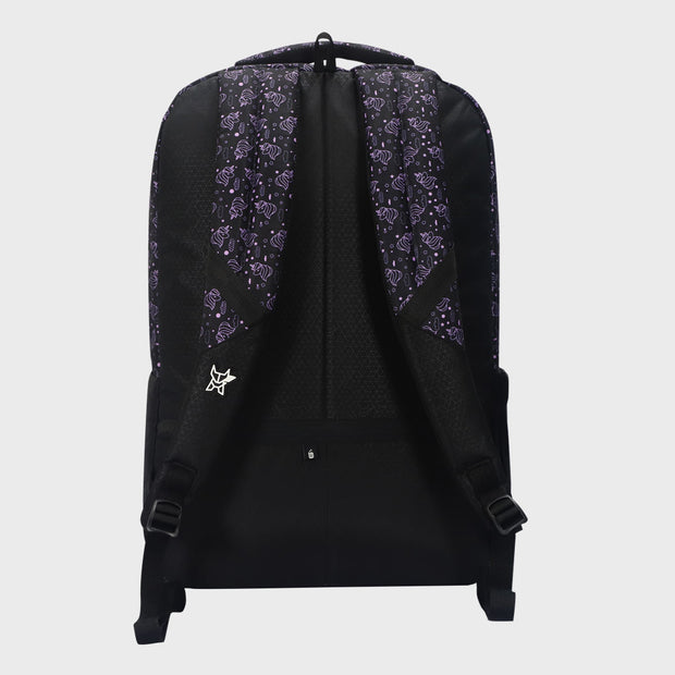 Arctic Fox Unicorn Lilac Backpack