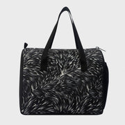 Arctic Fox Little Dude Wrap Black Lunch Bag