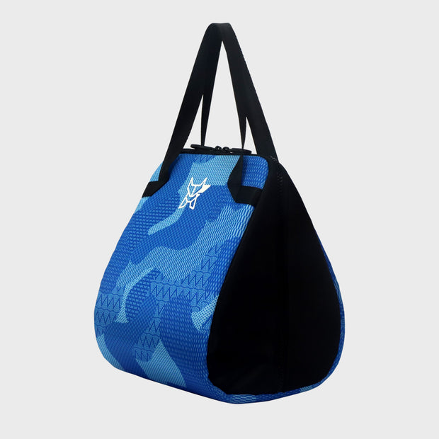 Arctic Fox Valentine Light Blue Lunch Bag