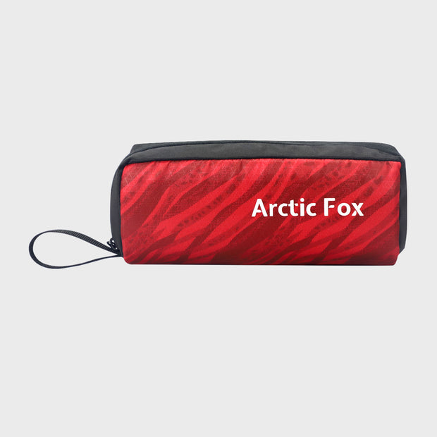 Arctic Fox Clutch Maroon Stationery Pouch