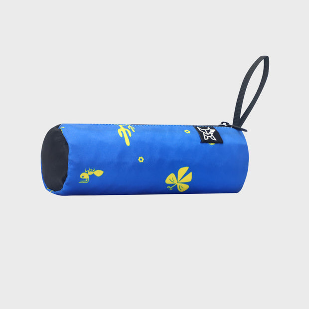 Arctic Fox Tube Blue Stationery Pouch