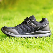 Arctic Fox Brisk Black Velcro School Shoes