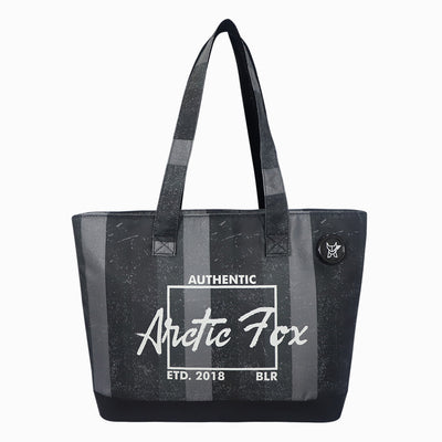 Arctic Fox Laptop Tote Bag For Women (Black)