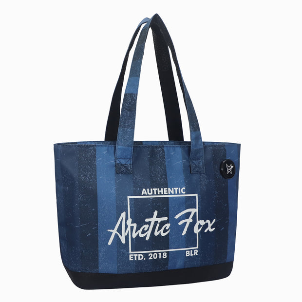Arctic Fox Laptop Tote Bag For Women (Deep Dive)