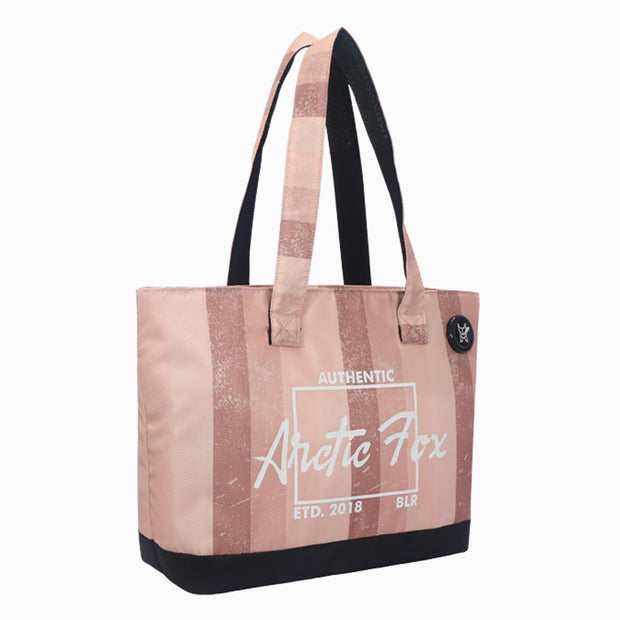 Arctic Fox Laptop Tote Bag For Women (Pink)
