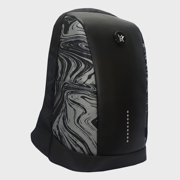 Arctic Fox Slope Anti-Theft Marble Black Backpack