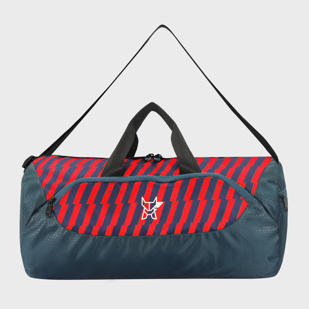 Arctic Fox Barrel Red Duffle